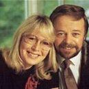 Cynthia Lennon and Jim Christie. 1988
