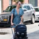 Candice Swanepoel in Mini Dress – Out and about in New York - 454 x 681