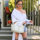 Chrissy Teigen seen leaving a spa in West Hollywood, California on March 31, 2017 - 362 x 600