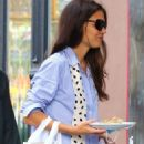Katie Holmes – Out for a dinner in Downtown Manhattan