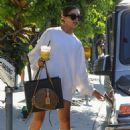 Olivia Culpo – Shopping at Bottega Veneta in West Hollywood - 454 x 681