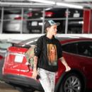 Ruby Rose – Visits an office building in LA