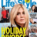 Jennifer Aniston and Justin Theroux - Life & Style Magazine Cover [United States] (26 December 2016)