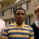 Dominic Dierkes ('Charlie,' left), Donald Glover ('Jason,' center) and DC Pierson ('Duncan,' right) star in Lionsgate Home Entertainment's Mystery Team. - 454 x 255