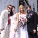 Bebe Buell and Jim Wallerstein wedding, 2002 - 432 x 346