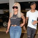 Blac Chyna and Mechie out in Los Angeles, California - August 29, 2017