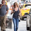 Emily VanCamp in Jeans out in New York City - August 23, 2016 - 454 x 591