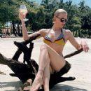 Katie Cassidy in Bikini in Costa Rica – Instagram - 454 x 550