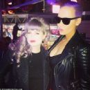 Amber Rose at Beyonce's Concert at the Staples Center in Los Angeles, California - December 4, 2013 - 454 x 440