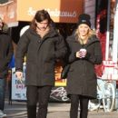 Dianna Agron and Winston Marshall – Out in Soho - 454 x 611