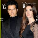 Paz Vega and Orson Salazar - 2010 Rafa Nadal Foundation Charity Gala