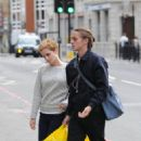 Emma Watson - Shopping With Her Brother Alex At The Spitalfields Store In London, England - August 28, 2010