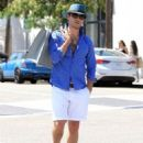 'Gossip Girl' actor Ed Westwick goes shopping in Beverly Hills, California on September 8, 2015