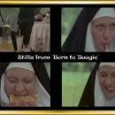 June Child disguised as a nun in Born to Boogie Film