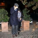 Mila Kunis and Ashton Kutcher: go out for dinner at Checchino restaurant
