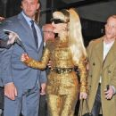 Lady Gaga's Golden New Year's Eve Night In NYC