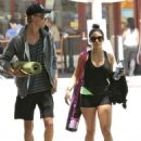 Vanessa Hudgens and Austin Butler goes to the gym (May 17)