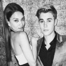 Say cheese! It's been rumoured recently that Shanina and Justin are in the midst of a blossoming romance
