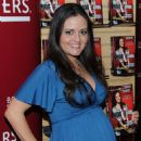 Danica McKellar Promotes 'Hot X: Algebra Exposed' At Borders Books & Music, Columbus Circle On August 4, 2010 In New York City - 454 x 570