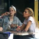 Stella Maxwell and Kristen Stewart - 454 x 304