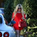Avril Lavigne in Red out in LA - 454 x 651