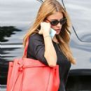 Sofia Vergara Arrives At A Gym In Los Angeles