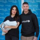 Pilar Rubio And Sergio Ramos Present Their New Born Child in Madrid - 400 x 600