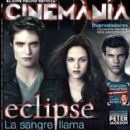 Robert Pattinson, Kristen Stewart - Cinemanía Magazine Cover [Mexico] (July 2010)