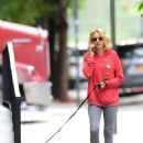 Naomi Watts chatting on her cellphone in New York