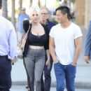 Courtney Stodden and Chris Sheng out in Beverly Hills - 454 x 613