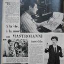 Marcello Mastroianni - Festival Magazine Pictorial [France] (5 June 1962)