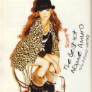 Namie Amuro Vivi Magazine Pictorial October 2010