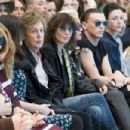 Nancy Shevell; Sir Paul McCartney; Chrissie Hynde; Rita Ora; Jamie Campbell Bower and Mary McCartney attend the Hunter Original show during London Fashion Week Spring Summer 2015 at on September 13, 2014 in London, England.