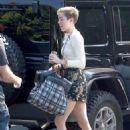 Miley Cyrus heading to the studio in Studio City, CA (August 13)