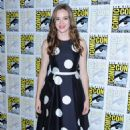 Danielle Panabaker at The Flash Panel at Comic Con in San Diego
