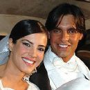 Gaby Espino and Cristobal Lander