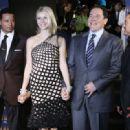 Terrence Howard, Gwyneth Paltrow, Jon Favreau, Robert Downey Jr -
