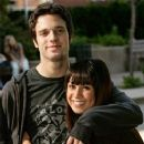 Cassie Steele and Jake Epstein