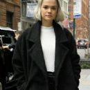 Maia Mitchell – Arrives at Build Series in NYC - 454 x 1114