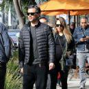 Jessica Albaand Cash Warren –Out in Beverly Hills