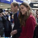 Kate Middleton and Prince William celebrating Poppy Appeal in London (November 7)