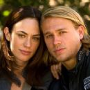 Maggie Siff and Charlie Hunnam