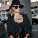 Paris Hilton At Lax Airport In La