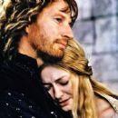 David Wenham as Faramir and Miranda Otto as Éowyn in New Line Cinema's