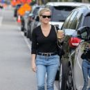 Reese Witherspoon – Seen with her son in Brentwood