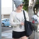 Kaley Cuoco Street Style Out and About In La
