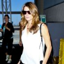 Ashley Greene Lax Airport In Los Angeles