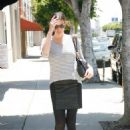Liv Tyler - Heads Out To American Rag Clothing Store In LA, 2010-07-12