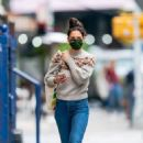 Katie Holmes – Look casual in denim while out in New York