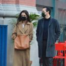 Katie Holmes and Emilio Vitolo Jr. shopping in Manhattan's Soho